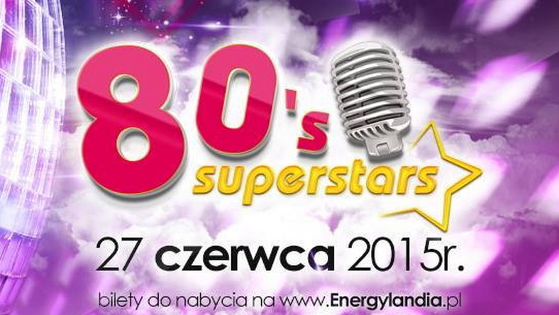 80's Superstar Festival odbędzie się 27 czerwca w Zatorze, Gwiazdami imprezy będą najpopularniejsi artyści lat 80.: Alphaville, Bad Boys Blue, Boney M, Savage, Francesco Napoli, Limahl oraz Fancy.