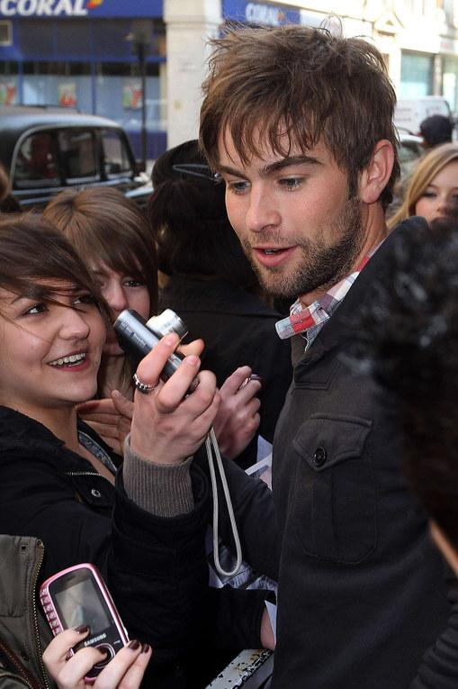Chace Crawford à Londres, le 15 avril 2010