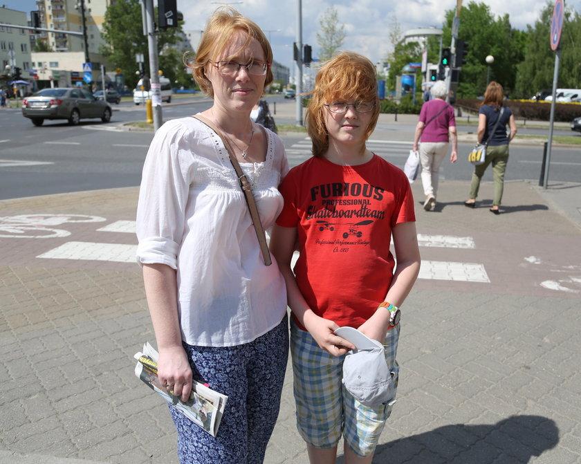 Aleksandra Wąsowska (38 l.) z synem Jakubem (11 l.):