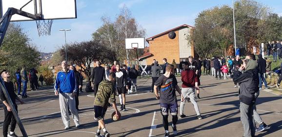 Turnir u basketu organizovan nakon trke