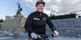Anita Włodarczyk zamieniła młot na rower. Fakt na przejażdżce z mistrzynią.