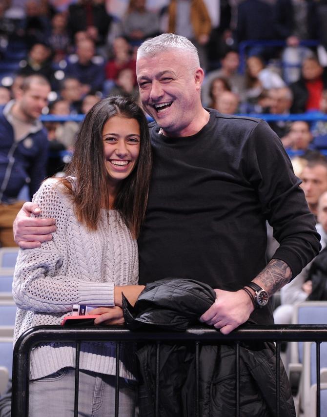 Tata i ćerka: Predrag i Olga Danilović