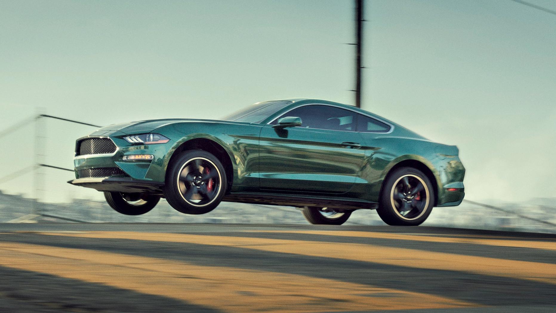 Ford Mustang Bullitt jeździć jak Steve McQueen