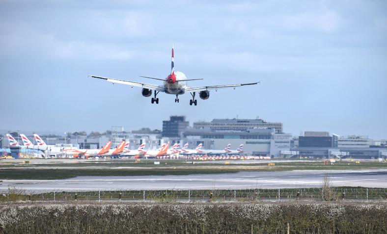 London Gatwick Airport, UK