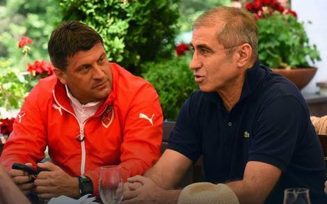 Vladan Milojević i Boško Đurovski
