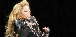 Madonna zakuła się w kajdanki