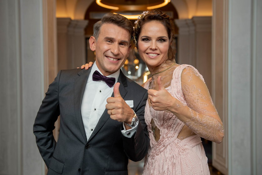 Robert Korzeniowski i Justyna Sobala