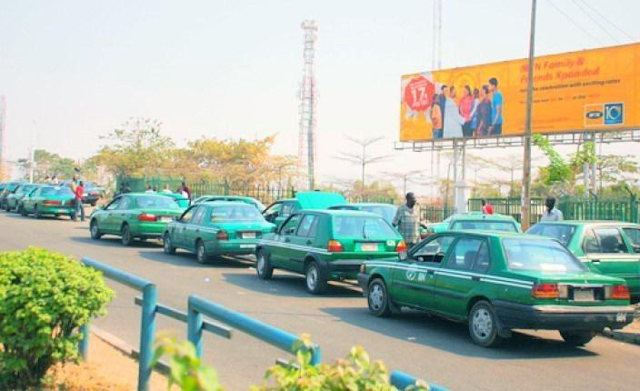 Abuja painted cabs [International center for investigative reporting]