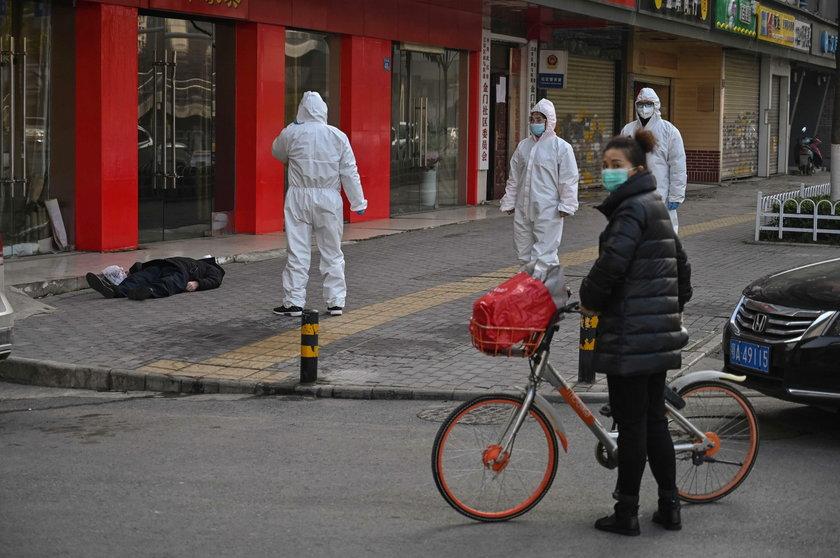 Wirus zabił go na ulicy