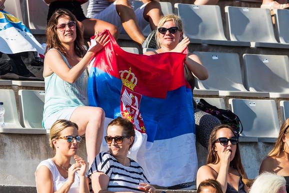 Srbija je imala podršku sa tribina u Barseloni