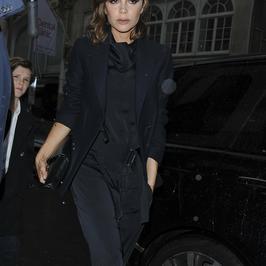 Victoria Beckham na kolacji z rodziną. Jacy oni stylowi!