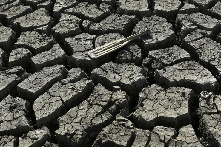 suša kalifornija