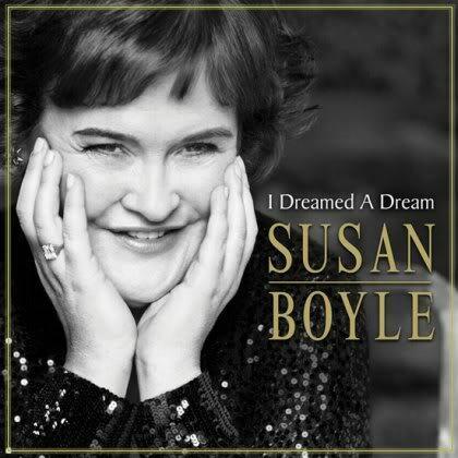 """Okładka debiutanckiej płyty Susan Boyle """"I Dreamed a Dream"""""""