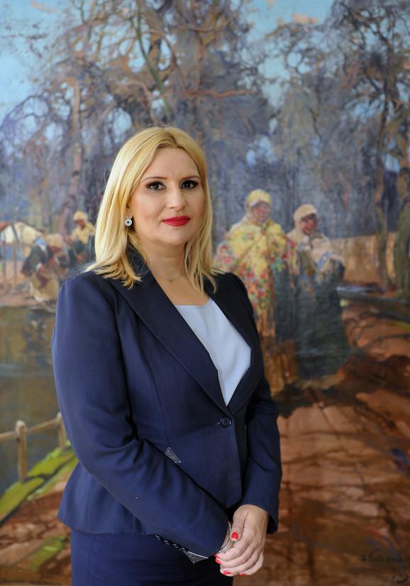 Zorana Mihajlović, potpredsednica vlade i ministarka građevinarstva, saobraćaja i infrastrukture