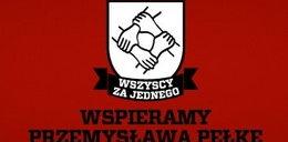 Piłkarze solidarni z Przemkiem Pełką
