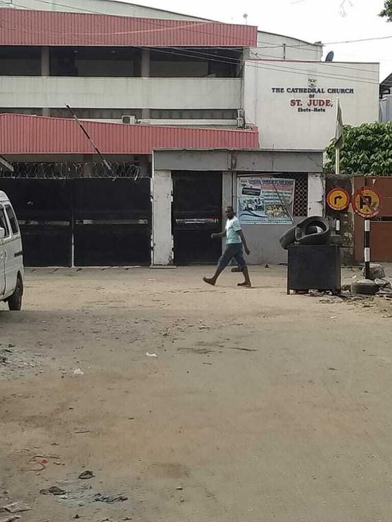 Most Catholic churches, like ST JUDE in Ebute-Metta, closed shop (Pulse)