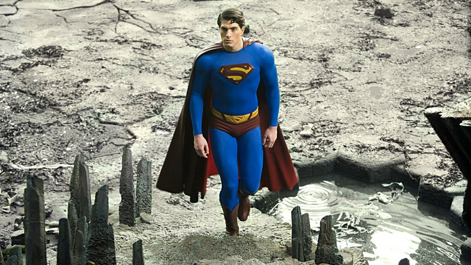 Brandon Routh w roli Supermana