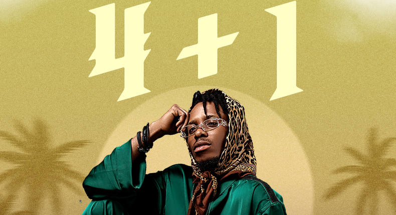 '4+1'  is available for download and streaming on all major music stores