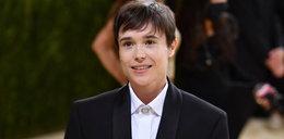 Elliot Page na Met Gala 2021. Aktor po raz pierwszy pojawił się na czerwonym dywanie po korekcie płci