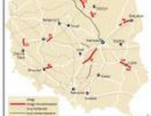 Drogi i linie kolejowe w remoncie