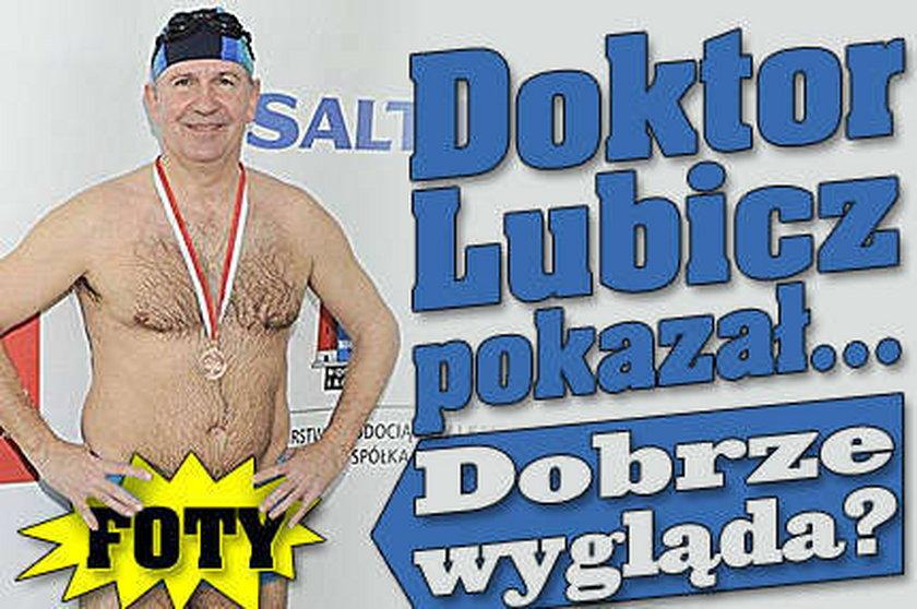 Doktor Lubicz pokazał się w slipach! Dobrze wygląda?