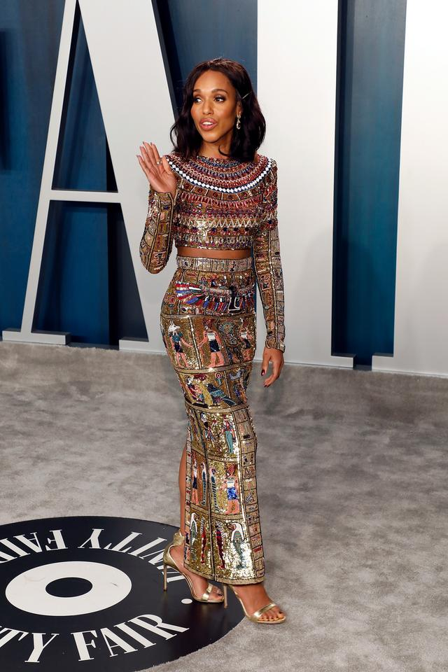 Oscary 2020: Kerry Washington na Vanity Fair Oscar Party