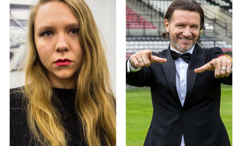 Maja Staśko i Radosław Majdan dyskutowali o zarobkach piłkarzy.