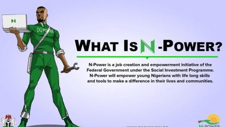 Buhari N-Power money is for work done, President tells