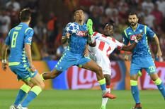Zvezda pregrmela nalete Napolija i osvojila prvi bod u Ligi šampiona!
