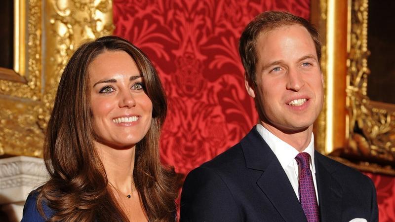 Kate Middleton i książe William