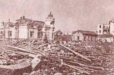 LESKOVAC06_Leskovac posle saveznickog bombardovanja_FOTO Narodni muzej Leskovca