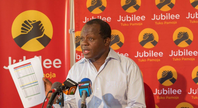 Confusion as Jubilee party primary in Kahawa Wendani fails to kick off