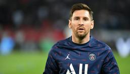 Paris Saint-Germain's Argentine forward Lionel Messi Creator: Alain JOCARD