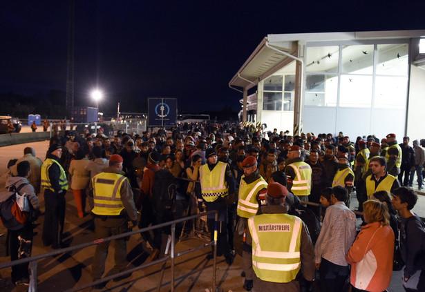 Uchodźcy na granicy austriacko-węgierskiej