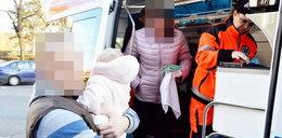 Wjechała w wózek z dziećmi. 11-miesięczne bliźniaki w szpitalu
