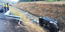 Tragiczny wypadek w drodze na wakacje. Nie żyje jedna osoba, sześć rannych