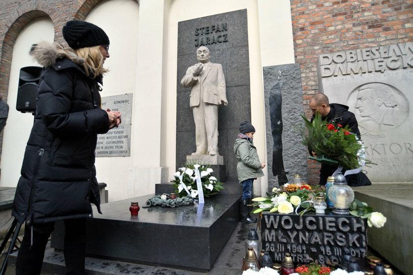 Grób Wojciecha Młynarskiego