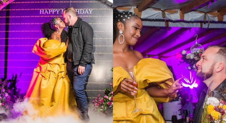Anita Nderu weds Mzungu fiancée in Traditional Kikuyu wedding [Video]