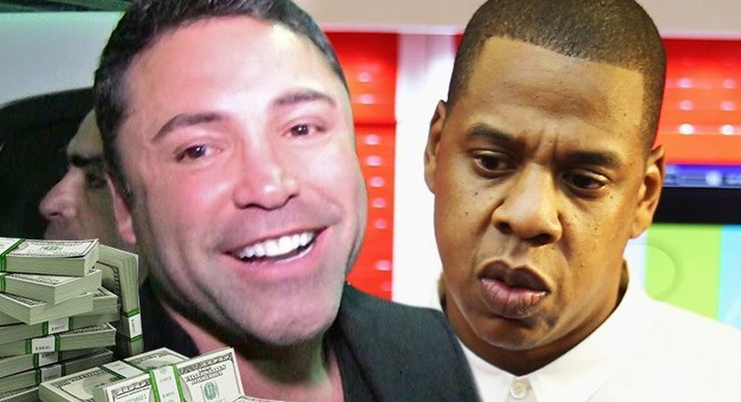 Jay Z pays Oscar De La Hoya $100K over lost bet