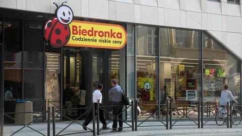 Wrocław. Nowy sklep Biedronka przy ul. Ruskiej