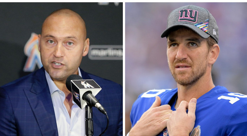 Eli Manning says Derek Jeter called him during his rookie year to give him advice on handling New York