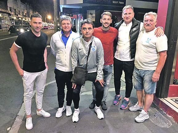 Duško Tošić, Dragan Stojković, Slobodan Marović, Miloš Ninković, Bratislav Živković i Ivan Popović