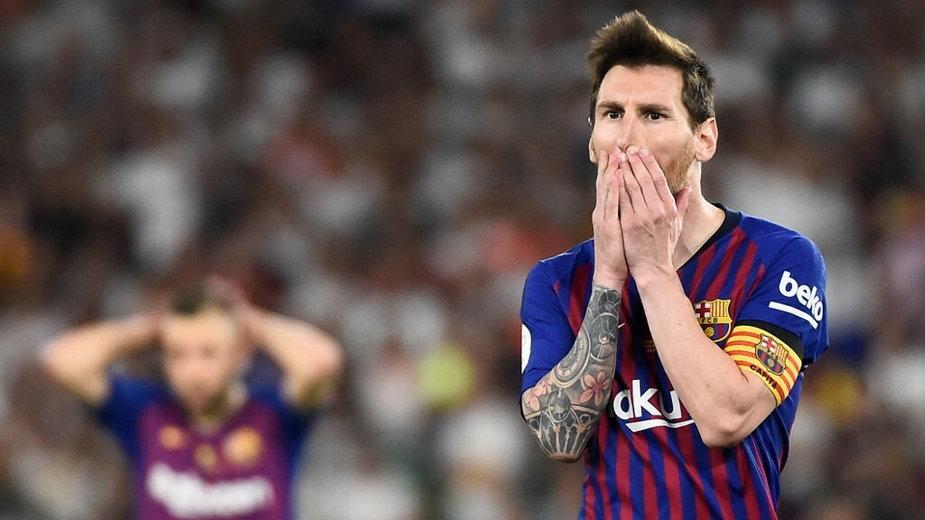 Leo Messi, finał Pucharu Króla z 2019 r.