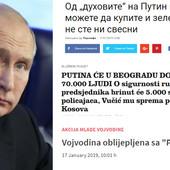 """REGIONALNI MEDIJI O POSETI RUSKOG PREDSEDNIKA """"Putinovi specjalci su se toliko infiltrirali da možete kupiti povrće od njih"""""""