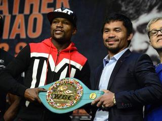 Floyd Mayweather Jr i Manny Pacquiao