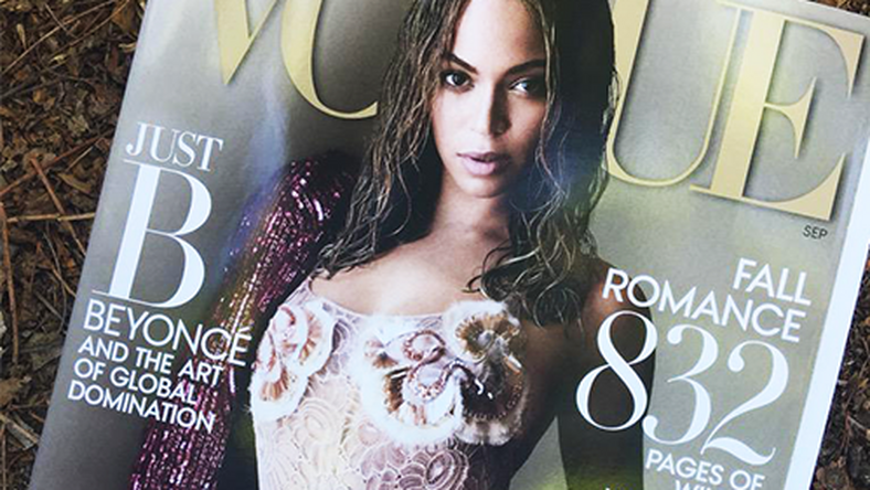 Beyonce for September issue of Vogue magazine
