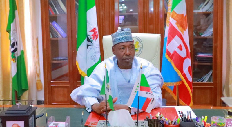 'Don't expect others to leave power for you' Zulum urges Igbo politicians to negotiate for presidency