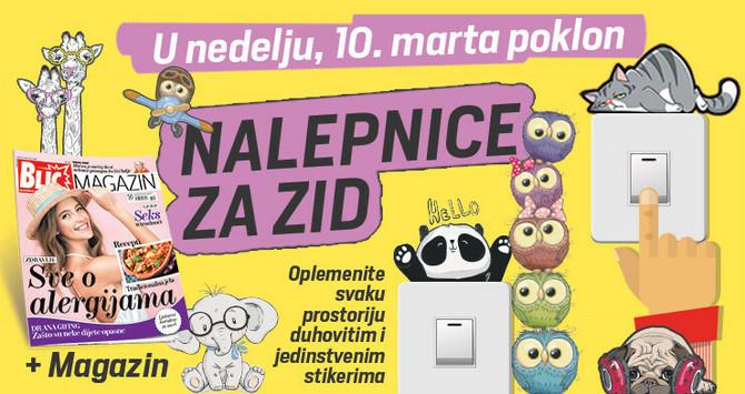 Poklon u nedelju uz Blic