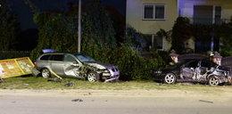 Auto jadące wężykiem a w nim... pijani 14-latkowie
