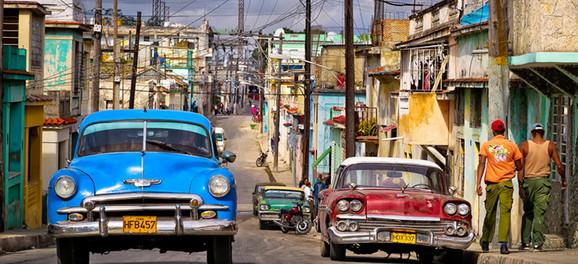 Jedna od slikovitih ulica u Havani